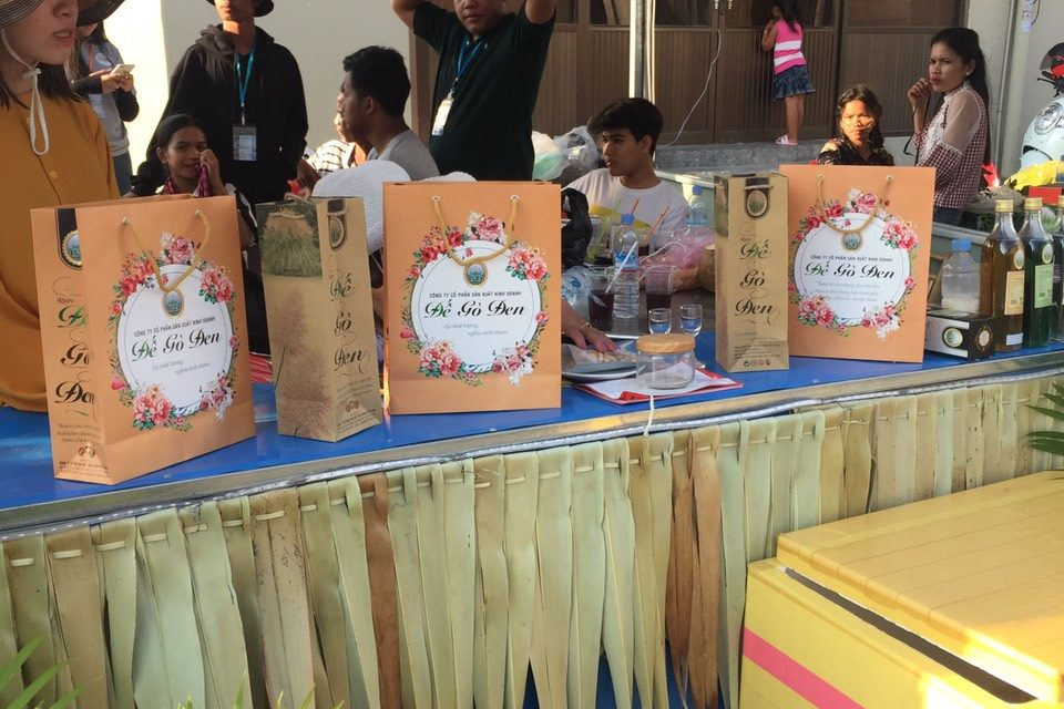 Rượu Đế Gò Đen được phân phối tại thị trường Vương Quốc Campuchia